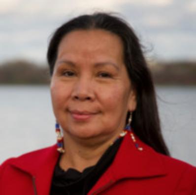 Caption: Lakota Elder Nancy Bordeaux