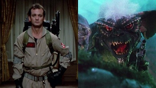 Caption: 1984's 'Ghostbusters' vs 'Gremlins'