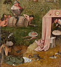 Caption: 'Allegory On Gluttony And Lust', Credit: Hieronymus Bosch