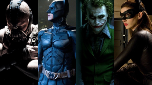 Caption: Christopher Nolan's 'Dark Knight' Trilogy