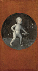 Caption: 'Christ Child With Walking Frame', Credit: Hieronymus Bosch