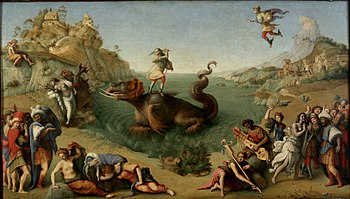 Caption: 'Perseus Rescuing Andromeda', Credit: Piero di Cosimo