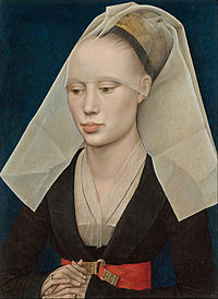 Caption: 'Portrait Of A Woman', Credit: Rogier van der Weyden