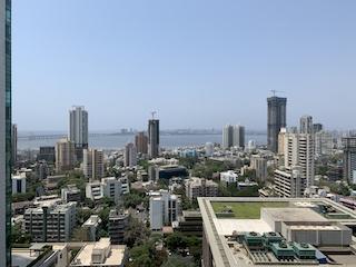 Caption: The Mumbai skyline during COVID-19, Credit: Isha Chawla
