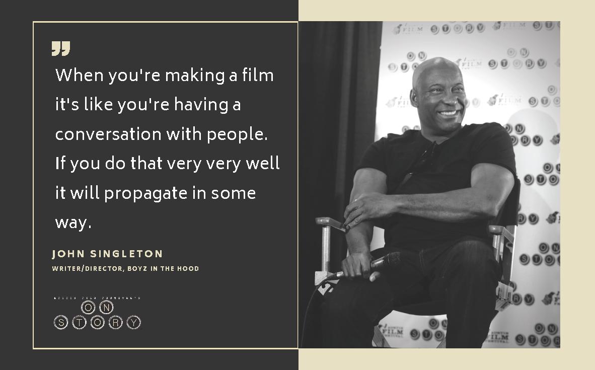 Caption: John Singleton, Credit: Austin Film Festival