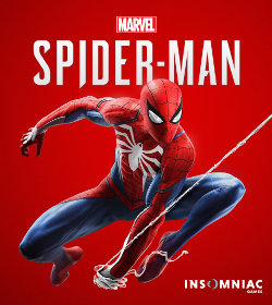 Caption: The cover of the 2018 game Spider-Man, scored by John Paesano and developed by Insomniac Games., Credit: CREDIT BY SOURCE, FAIR USE: WIKIPEDIA ENTRY