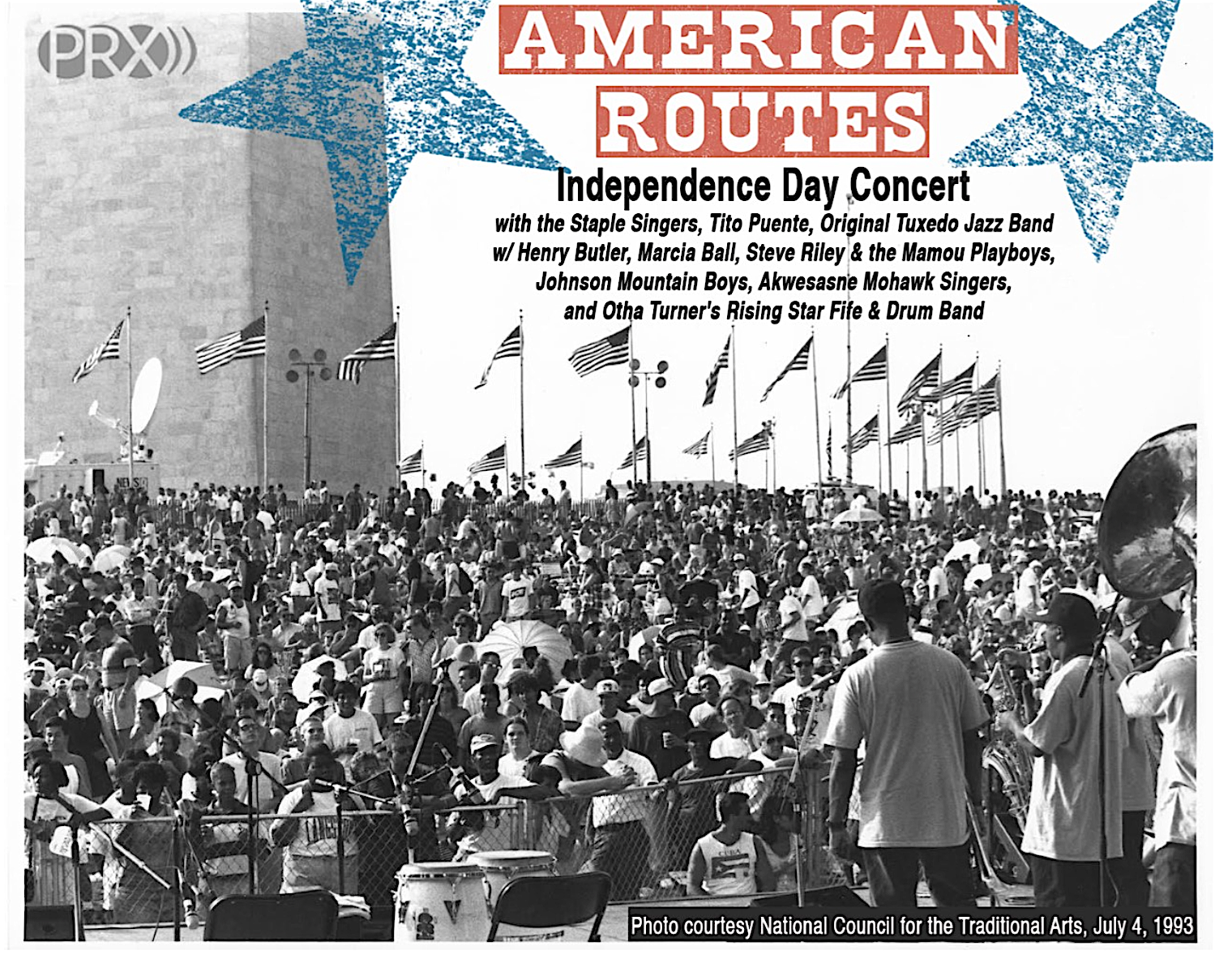 Caption: July 4, 1993 on the National Mall, Credit: National Council for the Traditional Arts