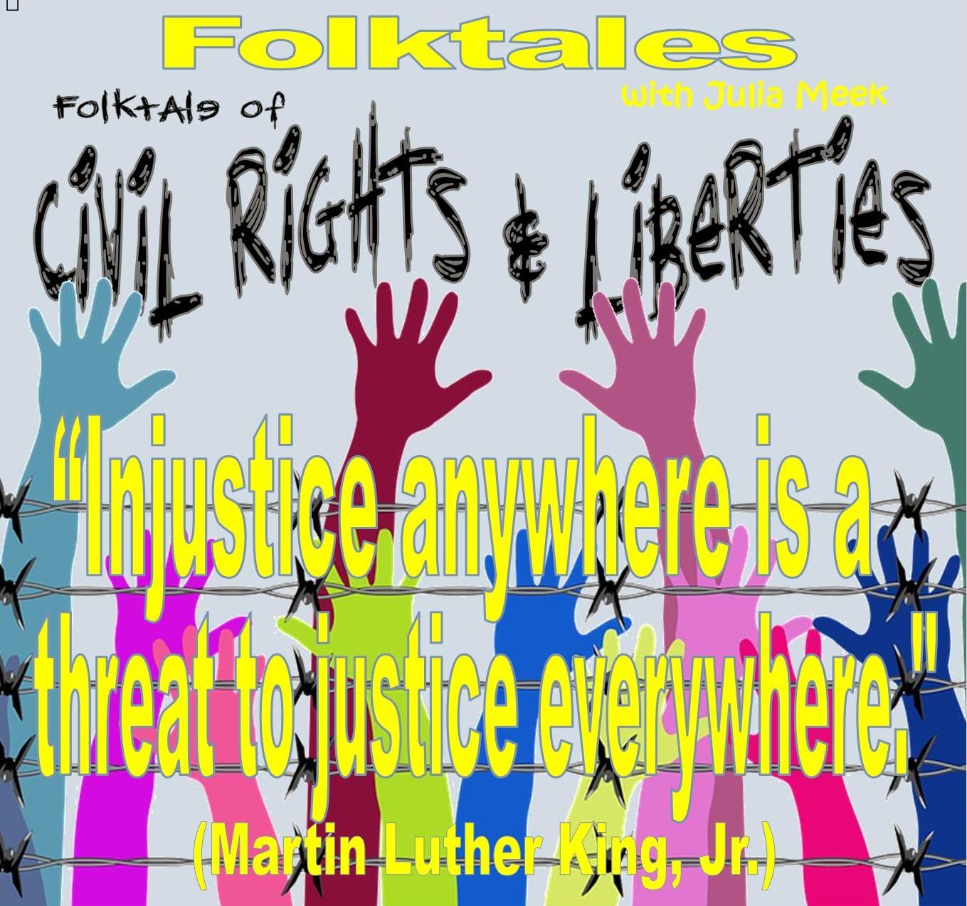 Caption: WBOI's Folktale of Civil Rights & Liberties, Credit: Julia Meek