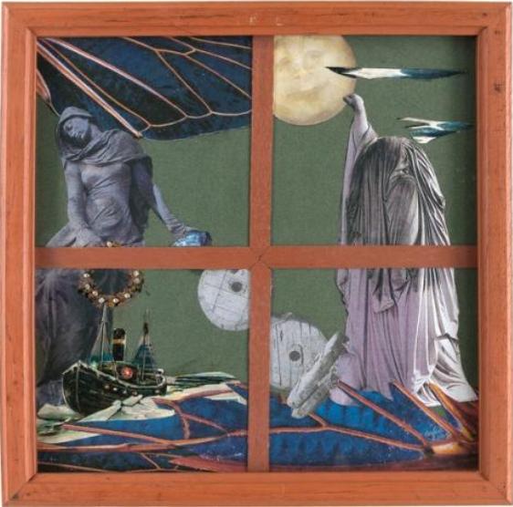 """Caption: """"La fenêtre"""" by Aube Elléouët, 2001, Musée d'Art moderne de Paris, Credit: Paris Musées"""