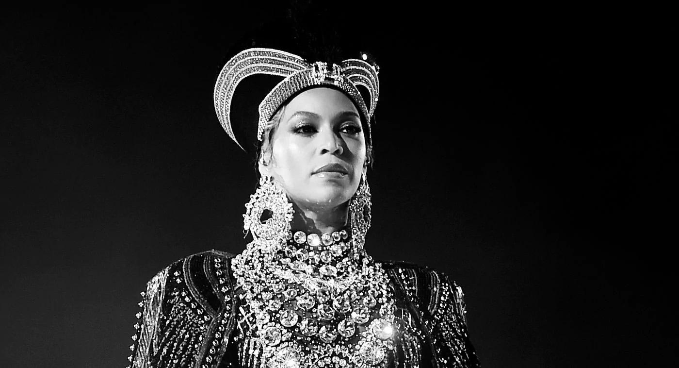 Caption: Beyonce