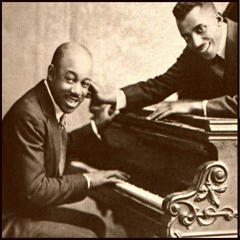 Caption: Eubie Blake & Noble Sissle