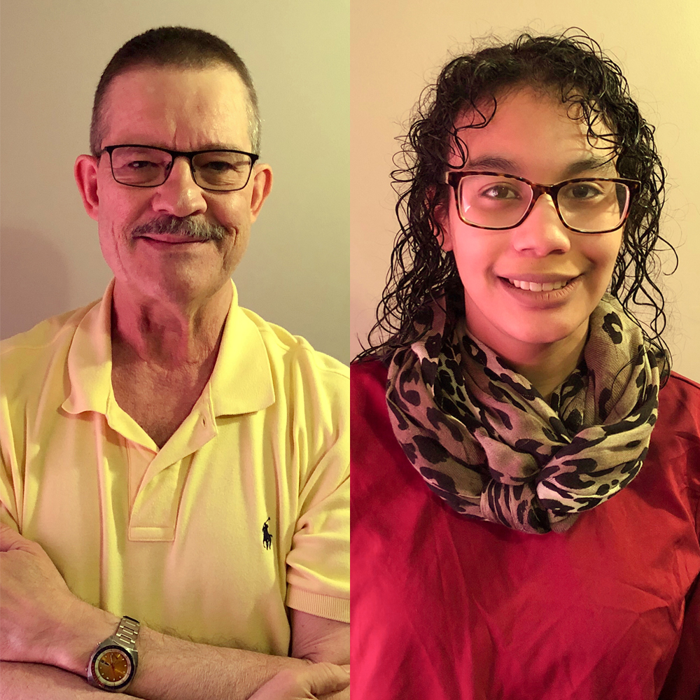 Caption:  Dr. Joseph Kras and his daughter, Sophie Kras, at their StoryCorps interview in Olivette, Missouri on June 13th, 2020. , Credit: The Kras family