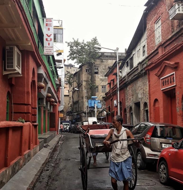 Caption: Chinatown in Kolkata, Credit: Sandip Roy