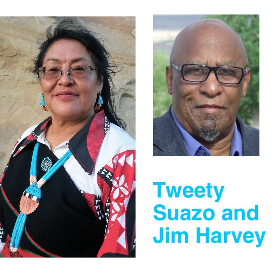 Caption: Left: Tweety Suazo; Right: Jim Harvey