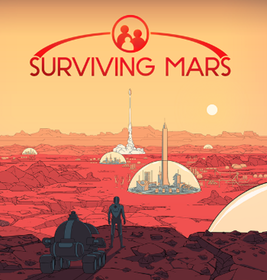 Caption: The cover art for the city-building simulation videogame Surviving Mars., Credit: CREDIT BY SOURCE, FAIR USE: WIKIPEDIA ENTRY