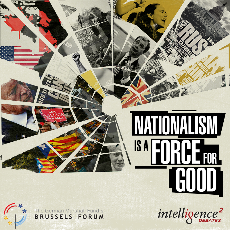 Caption: Is Nationalism a Force for Good?, Credit: Intelligence Squared U.S.