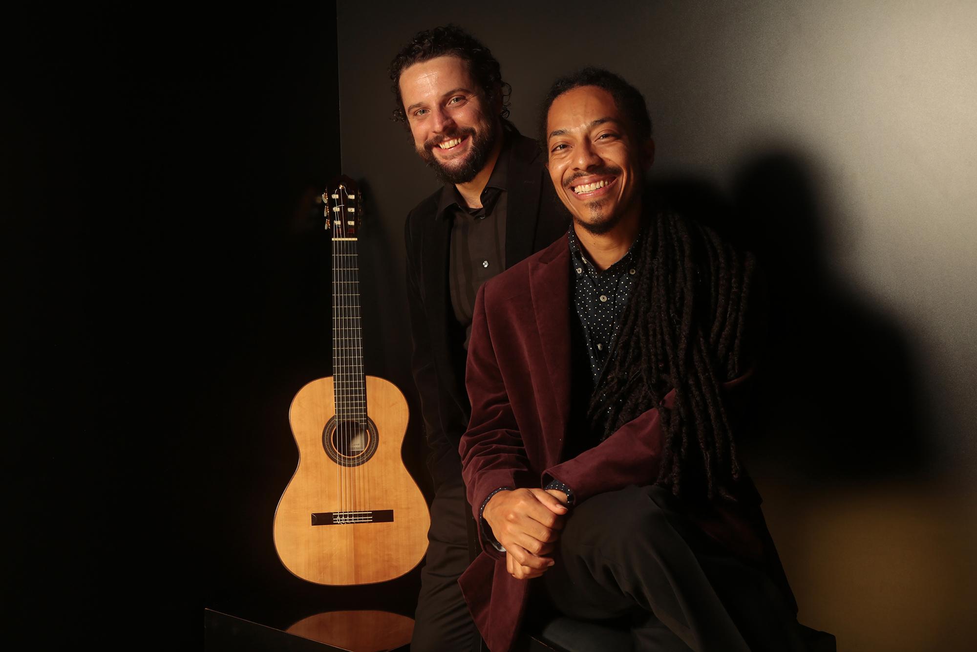 Caption: Brasil Guitar Duo, Credit: Brasil Guitar Duo