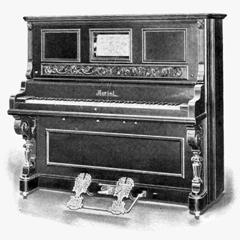 Caption: Aeriol Piano c.1920