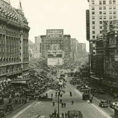 Caption: New York City, 1923