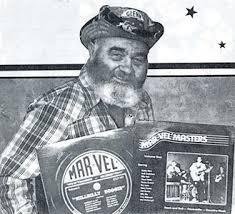 Caption: Harry Glenn the welder/owner of Mar Vel Records of Hammond, Indiana