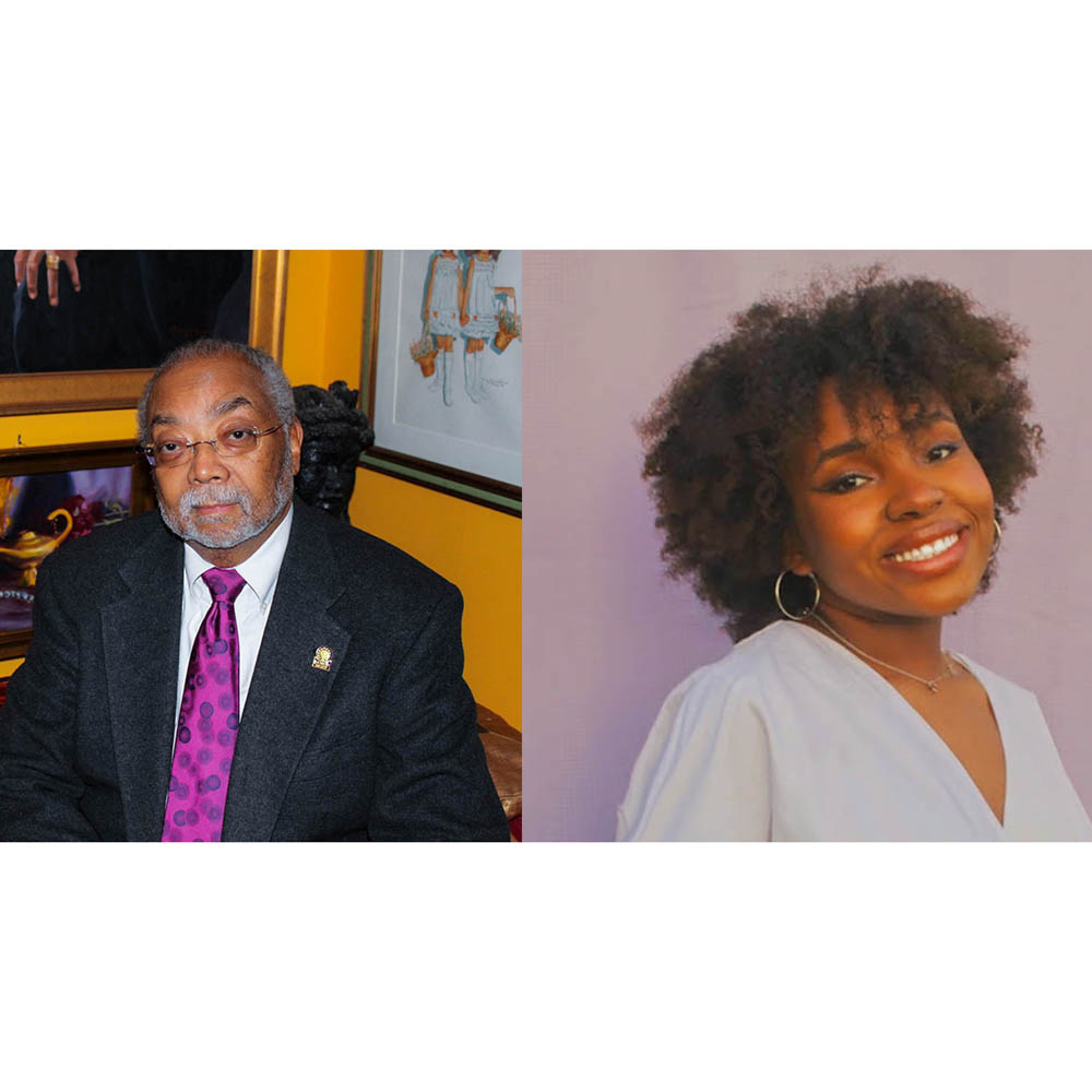 Caption: Rohulamin Quander at his home in Washington D.C. in 2016 and Alicia Argrett in Madison, Mississippi in 2010., Credit: Rohulamin Quander and Alicia Argrett.