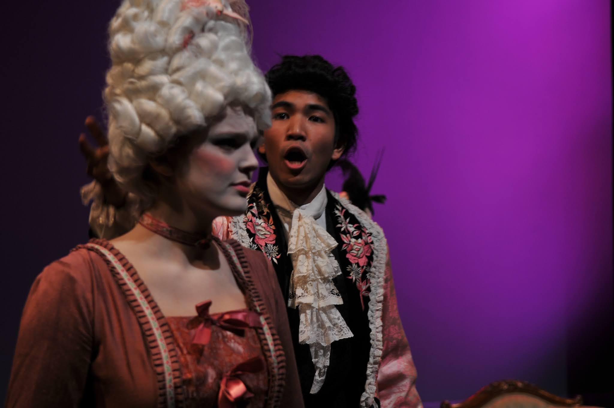 Caption: Interlochen Arts Academy opera theater students in the 2012-13 academy year, Credit: Interlochen Center for the Arts