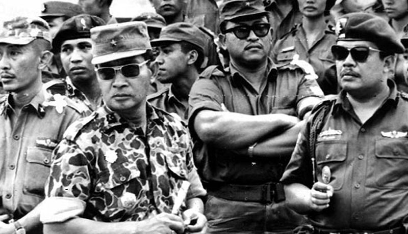 Caption: General Suharto in the days after the September 30th Movement.