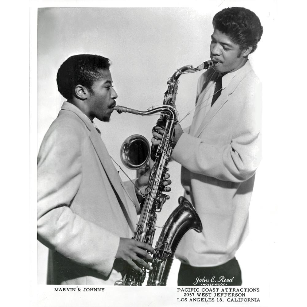 Caption: Marvin and Johnny