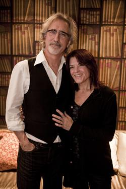 Caption: John Leventhal and Rosanne Cash