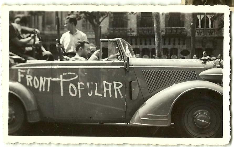 Caption: Barcelona - July 1936, Credit: Muriel Rukeyser, permission of William L. Rukeyser