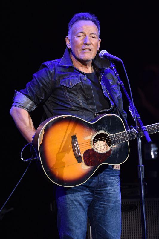 Caption: Bruce Springsteen
