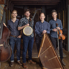 Caption: Ken & Brad Kolodner Quartet