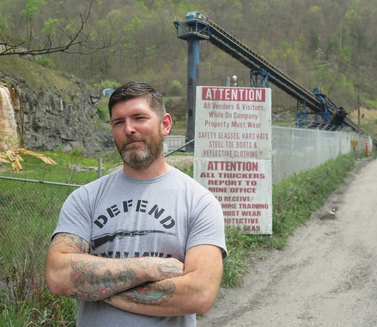 Caption: Gary Bentley is a former coal miner who grew up in eastern Kentucky., Credit: Courtesy Gary Bentley