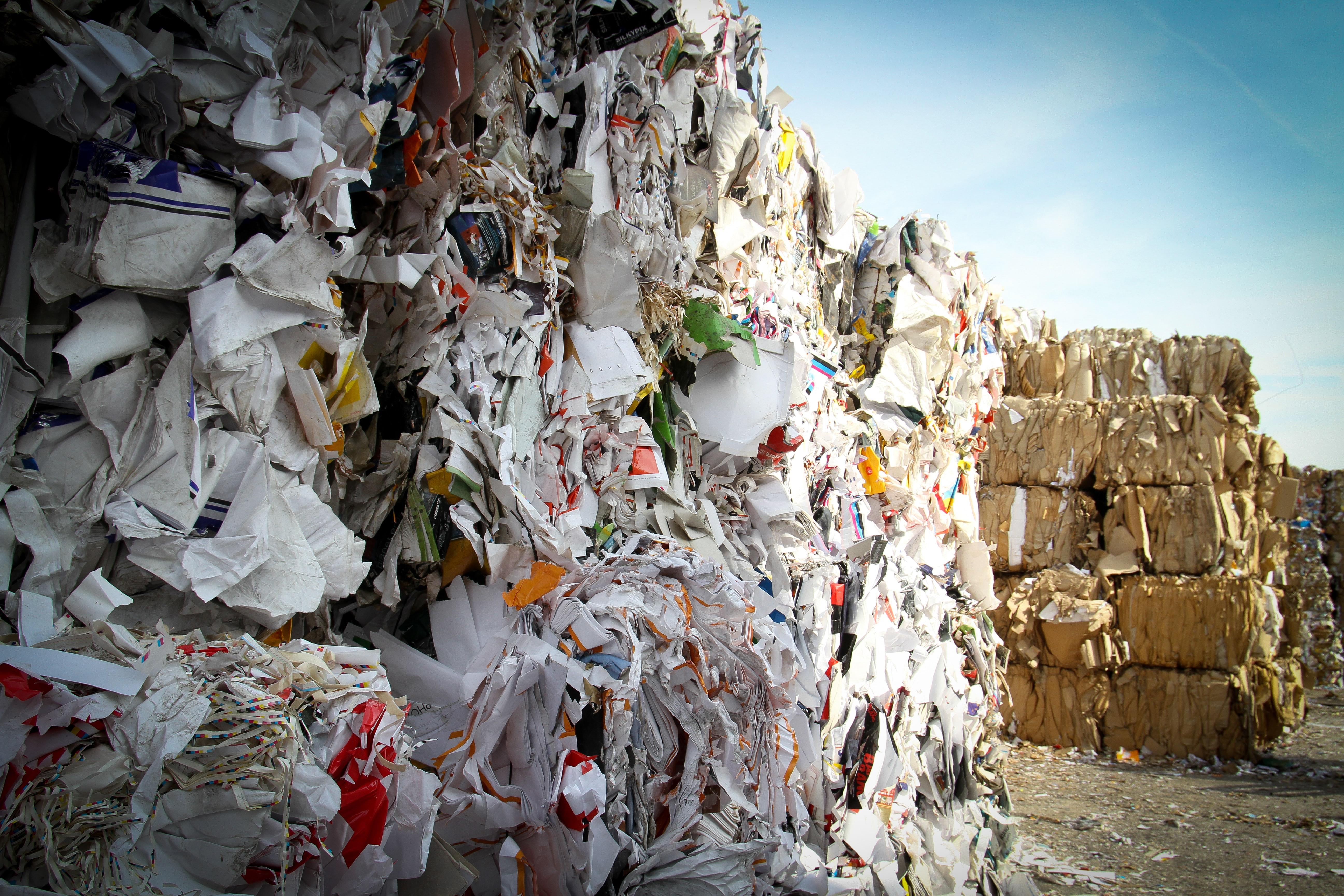 Caption: Paper recycling plant , Credit: Bas Emmen