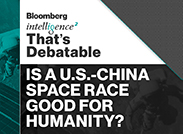 Caption: Is a U.S.-China Space Race Good for Humanity? , Credit: Intelligence Squared U.S.