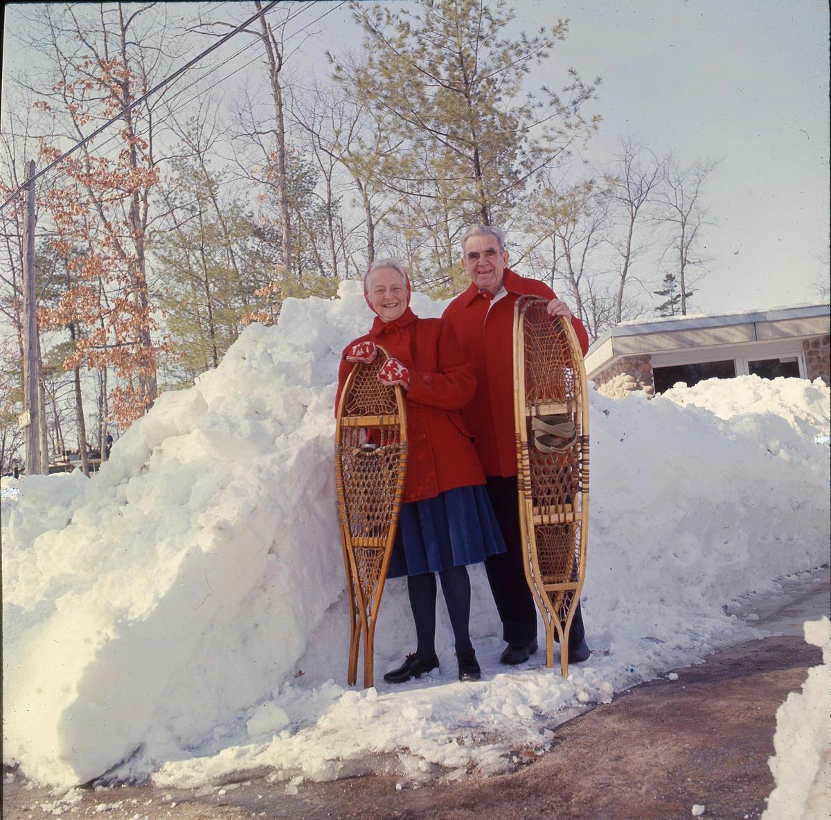 Caption: Joe and Faye Maddy in 1964, Credit: Interlochen Center for the Arts