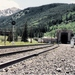 Caption: The Rocky Mountains' famous Moffat Tunnel, Credit: Copyright C. Warren