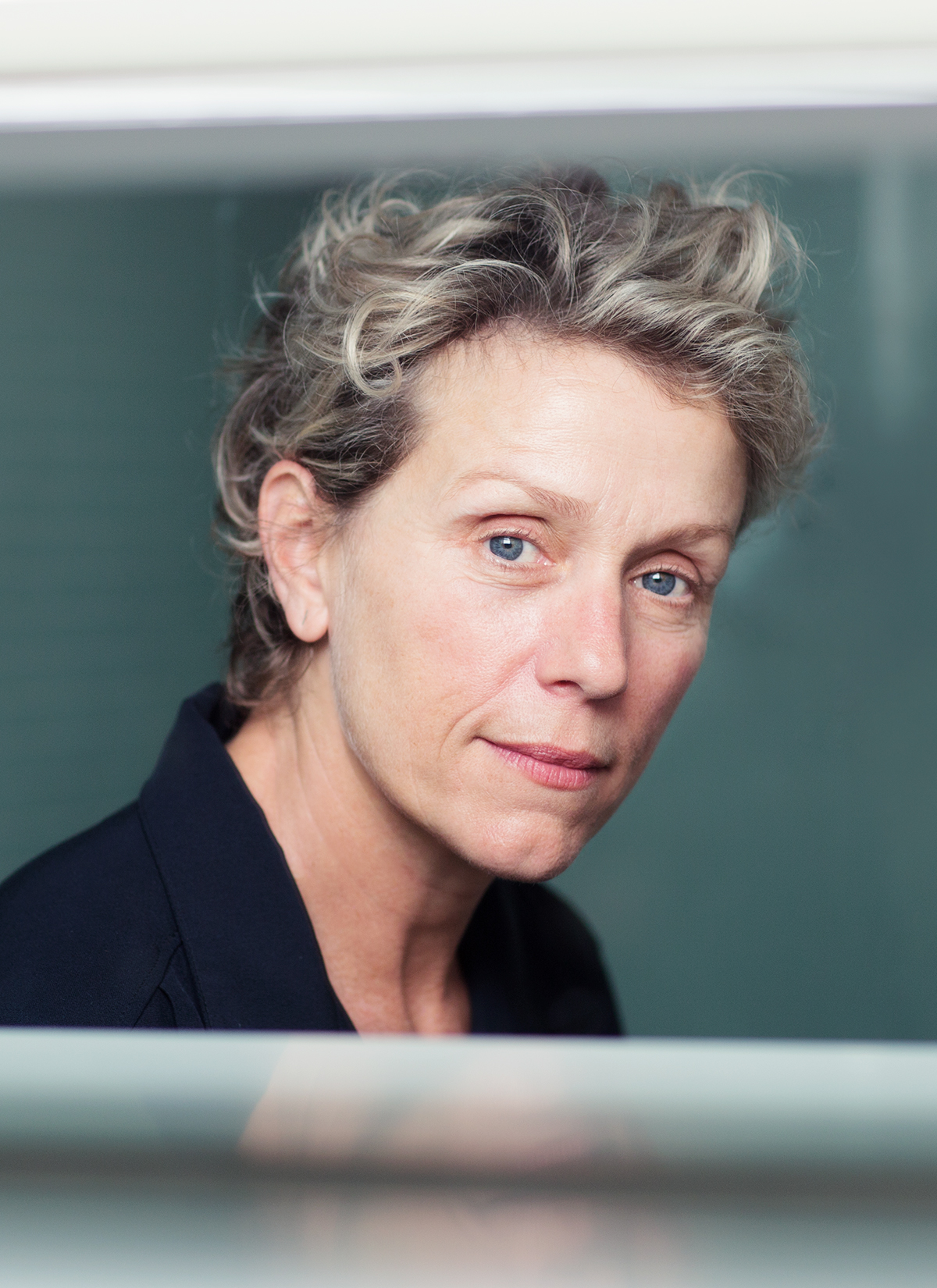 Caption: Host, Frances McDormand, Credit: Alison Rosa