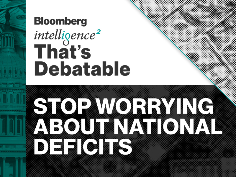 Caption: Should We Stop Worrying About National Deficits?, Credit: Intelligence Squared U.S.