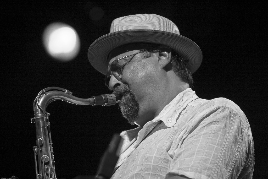 Caption: Joe Lovano
