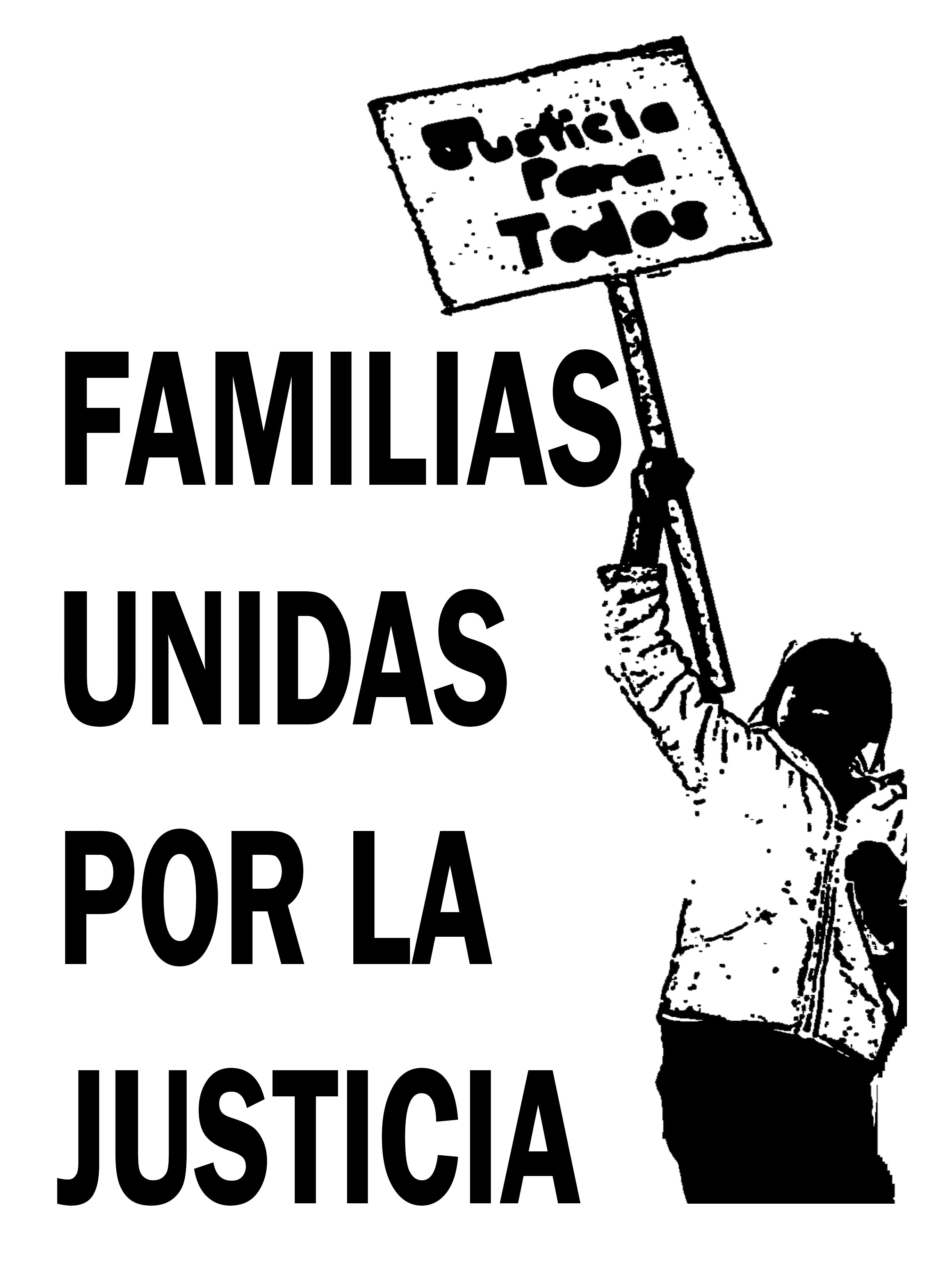 Caption: Familias Unidas por la Justicia