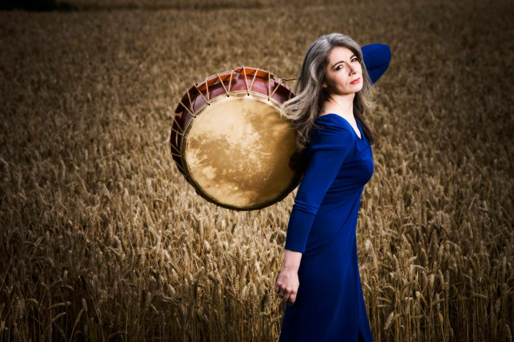 Caption: Composer and multi-percussionist Evelyn Glennie, Credit: James Callaghan/Courtesy of the Artist