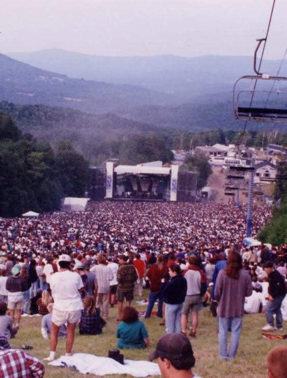 Caption: Sugarbush Summer Stage, Fayston, VT 1995