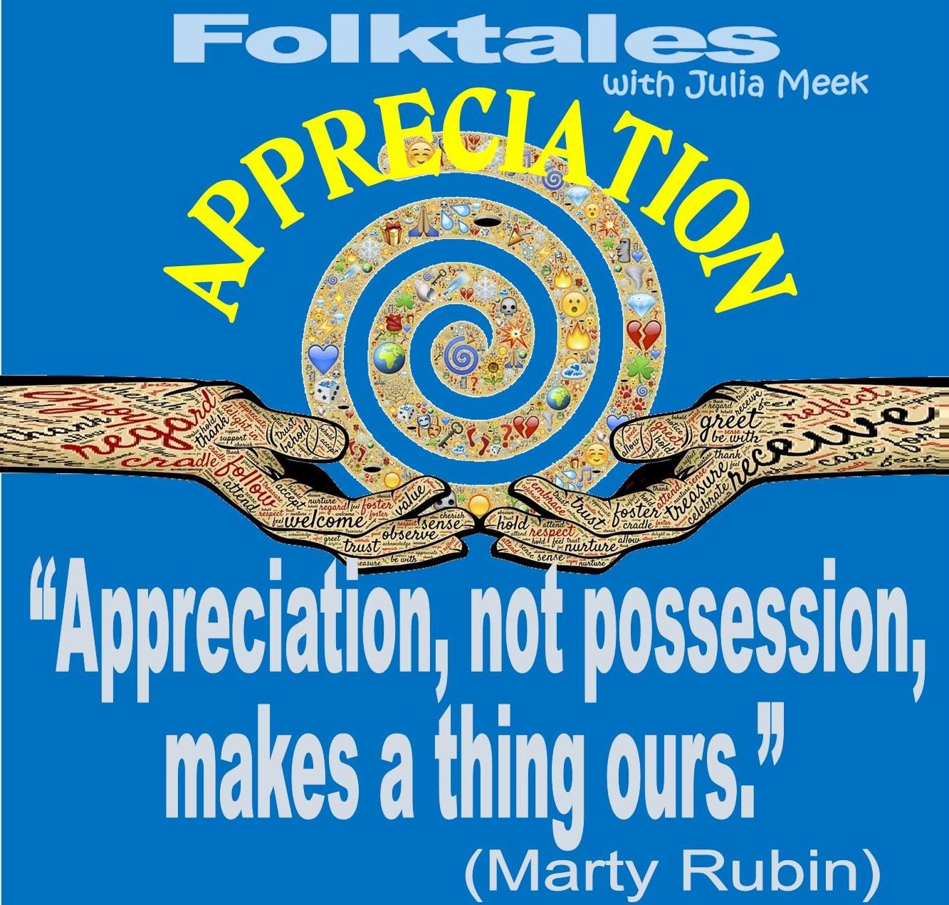 Caption: WBOI's Folktale of Appreciation, Credit: Julia Meek