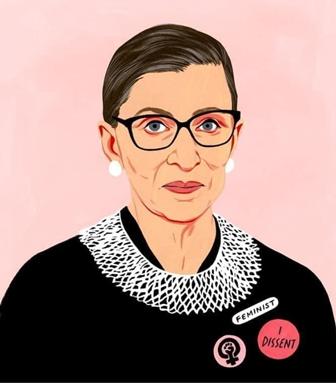 Caption: Ruth Bader Ginsburg