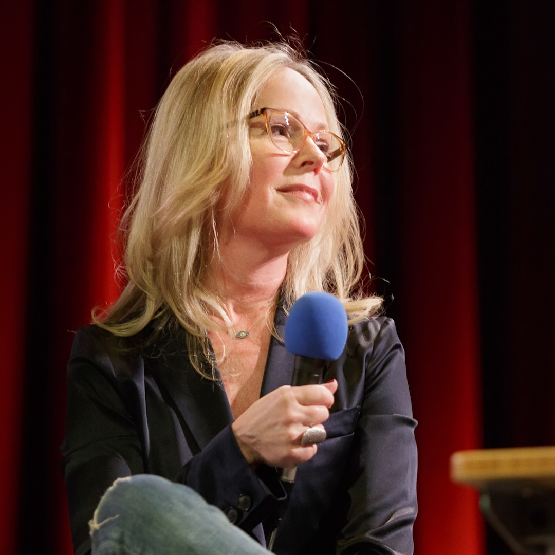 Caption: Dani Shapiro on Live Wire, Credit: Jennie Baker