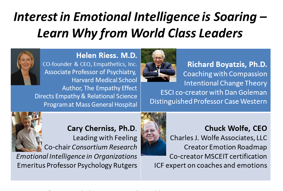 Caption: Emotional Intelligence Matters