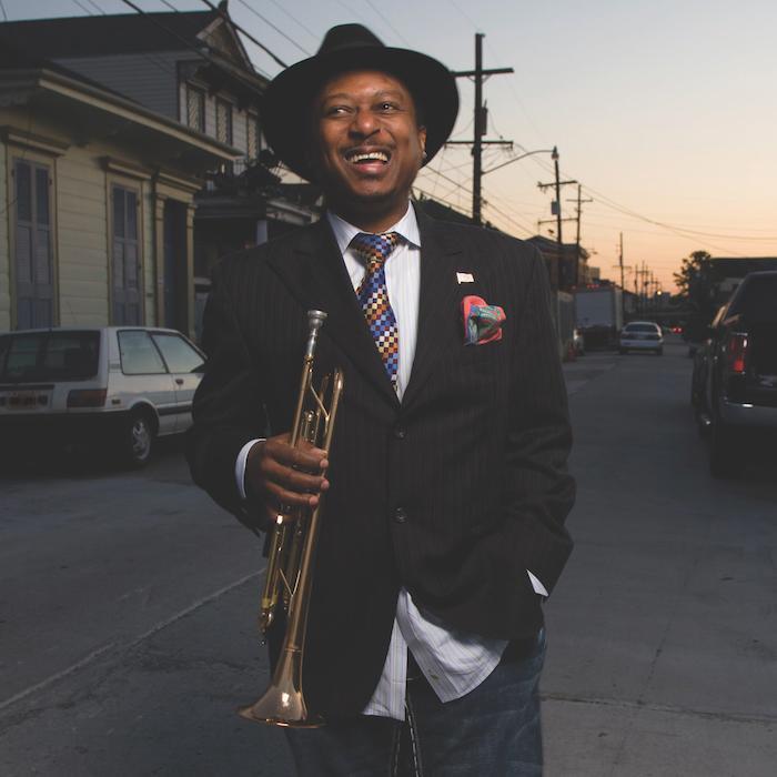 Caption: Kermit Ruffins