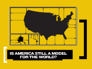 Caption: Is America Still a Model for the World?, Credit: Intelligence Squared U.S.