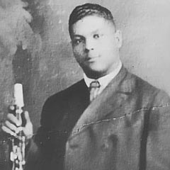 Caption: young Sidney Bechet